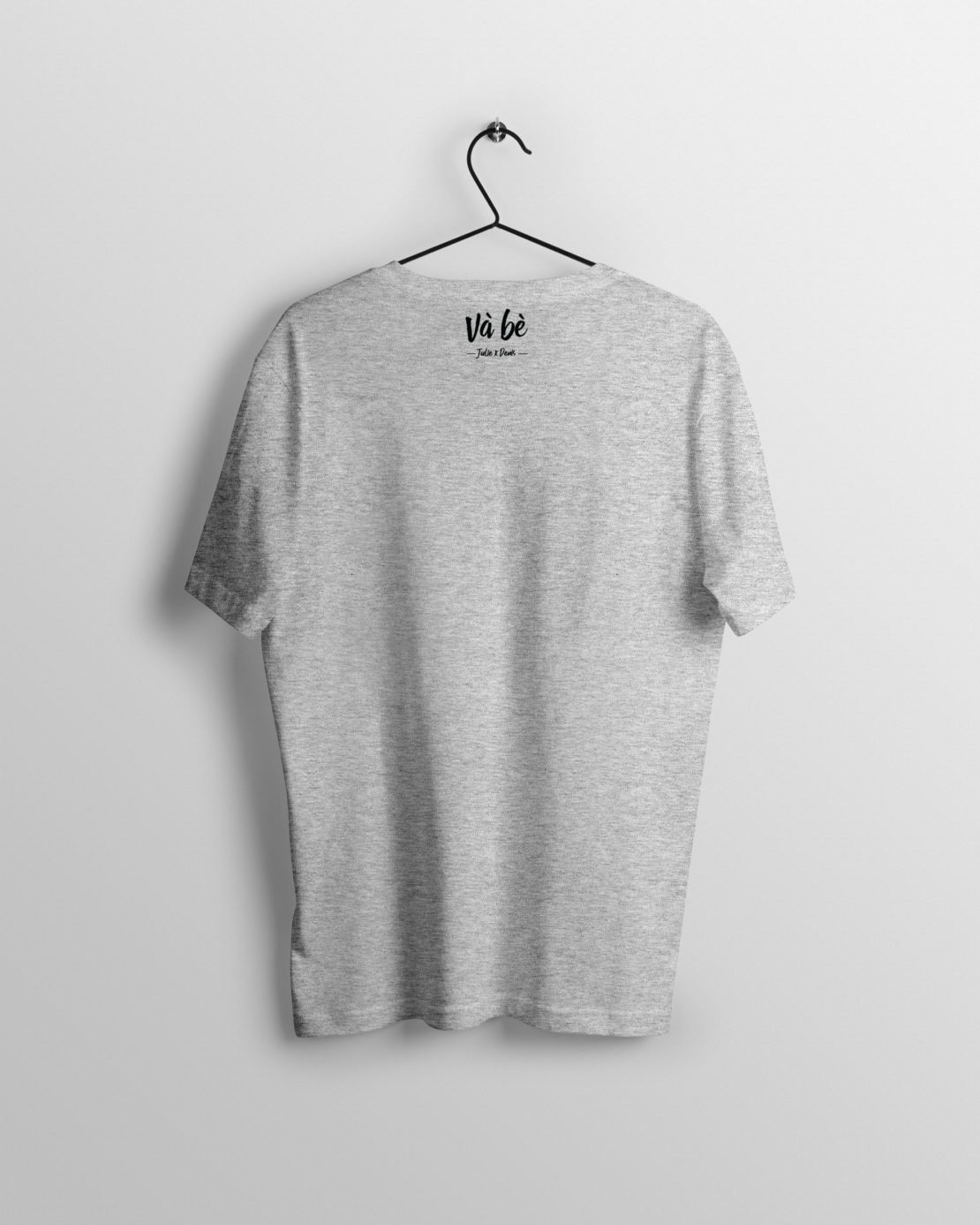 T-SHIRT-HOMME-VAMOS-(MARQUE-DOS)-HEATHER-GREY